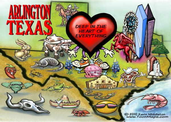 arlington-texas-cartoon-map-kevin-middleton